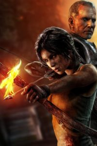 Lara on Fire