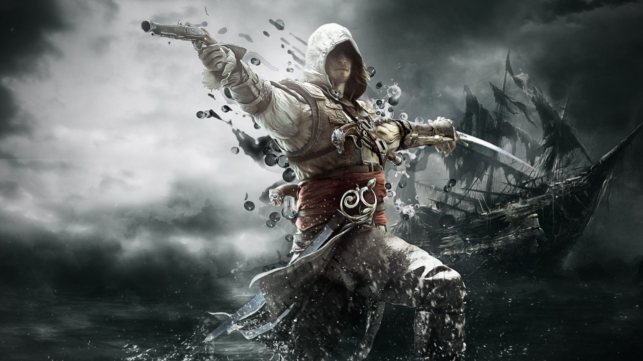 AC Black Flag - Edward Kenway pirate
