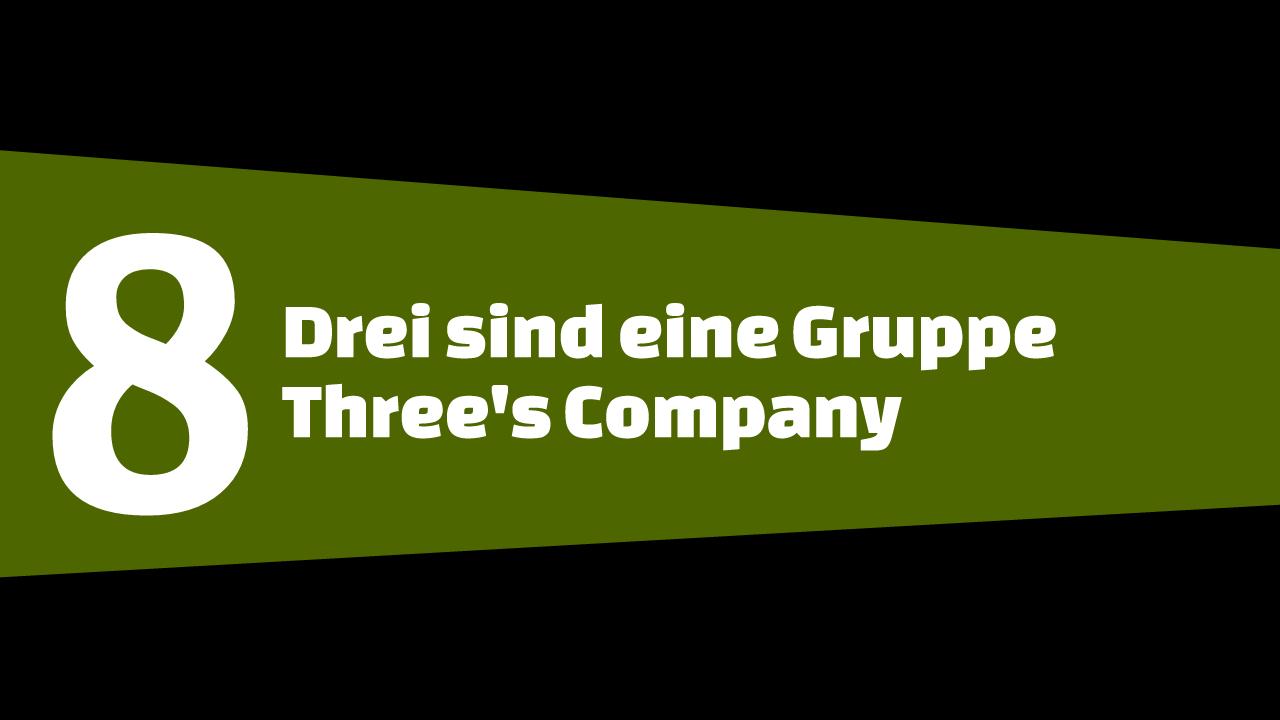 GTA5 #8 - Drei sind eine Gruppe - Schriftbanner