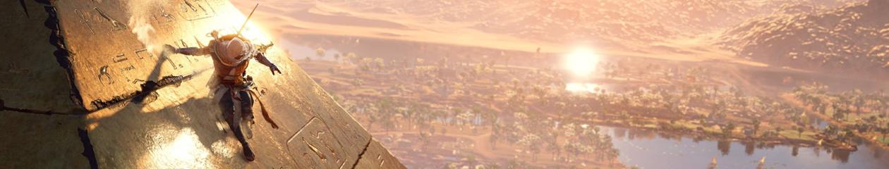 HEADBANNER Assassin's Creed Origins The Pyramide Slide Edition