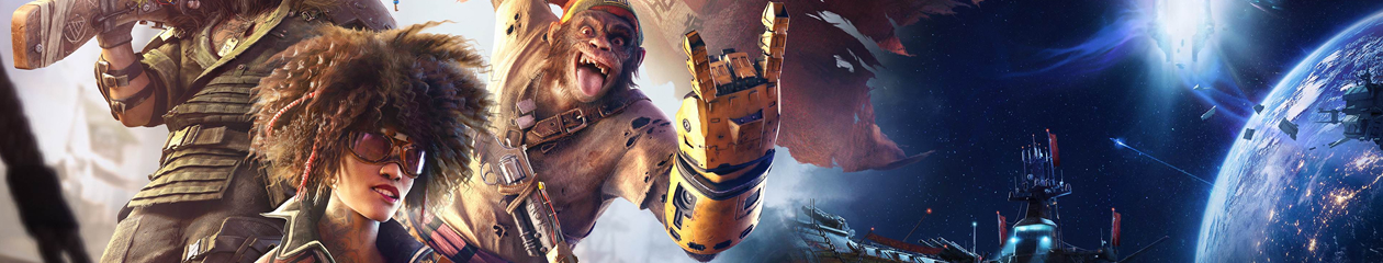 BORN4PLAY Beyond Good and Evil 2 Space Monkeys Edition
