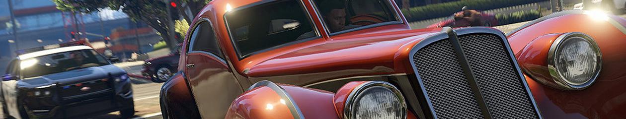 HEADBANNER GTA 4 Franklins Police Chase Edition