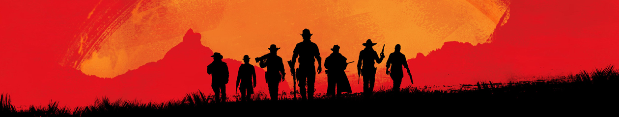 HEADBANNER Red Dead Redemption II Sunset Gang Edition