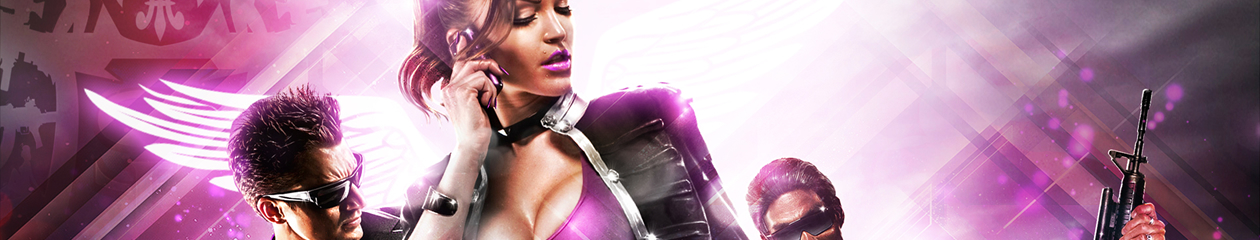 HEADBANNER Saints Row Rich Bitch Edition