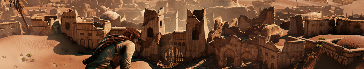 HEADBANNER Uncharted 3: Drakes Deception - Sand Desert Ruins Edition