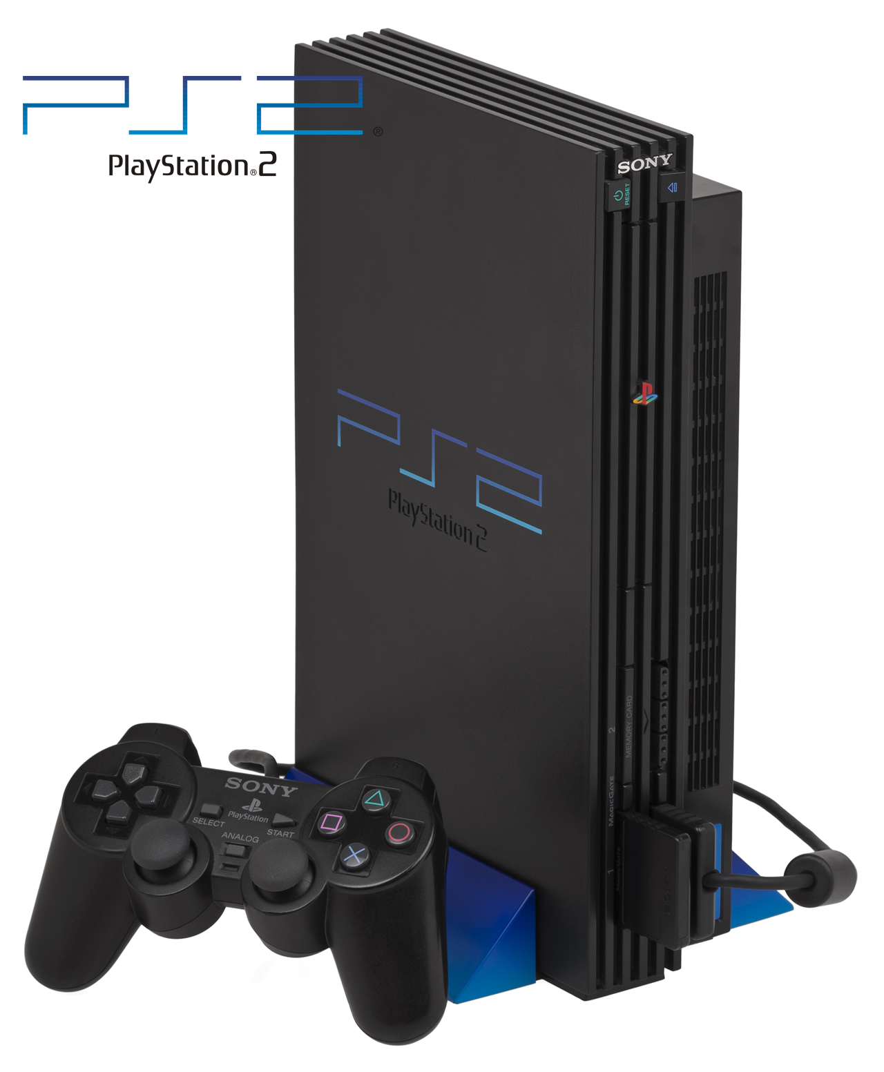 PS2 Gaming Console System