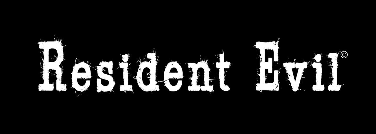 Residen Evil Script Logo