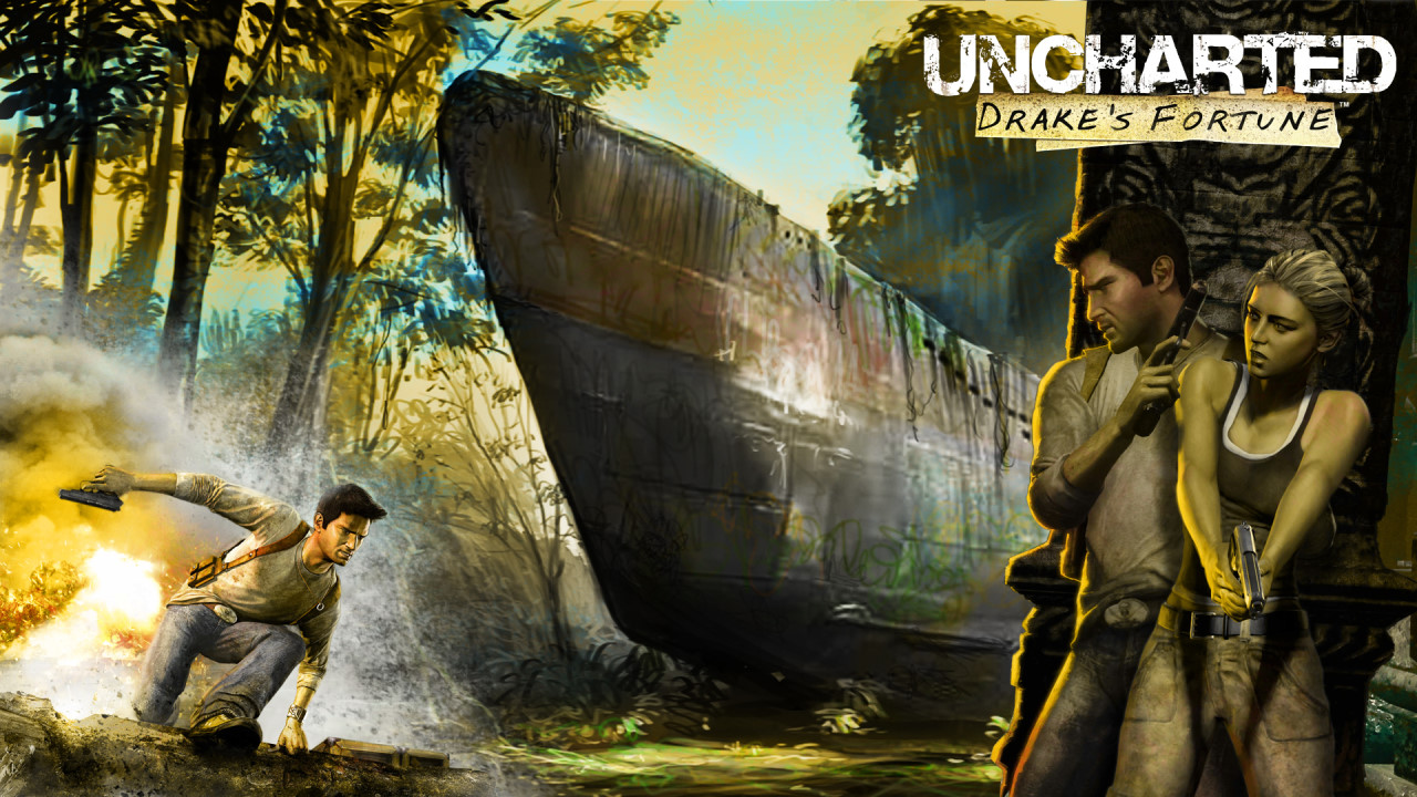Uncharted: Drake's Fortune Wallpaper