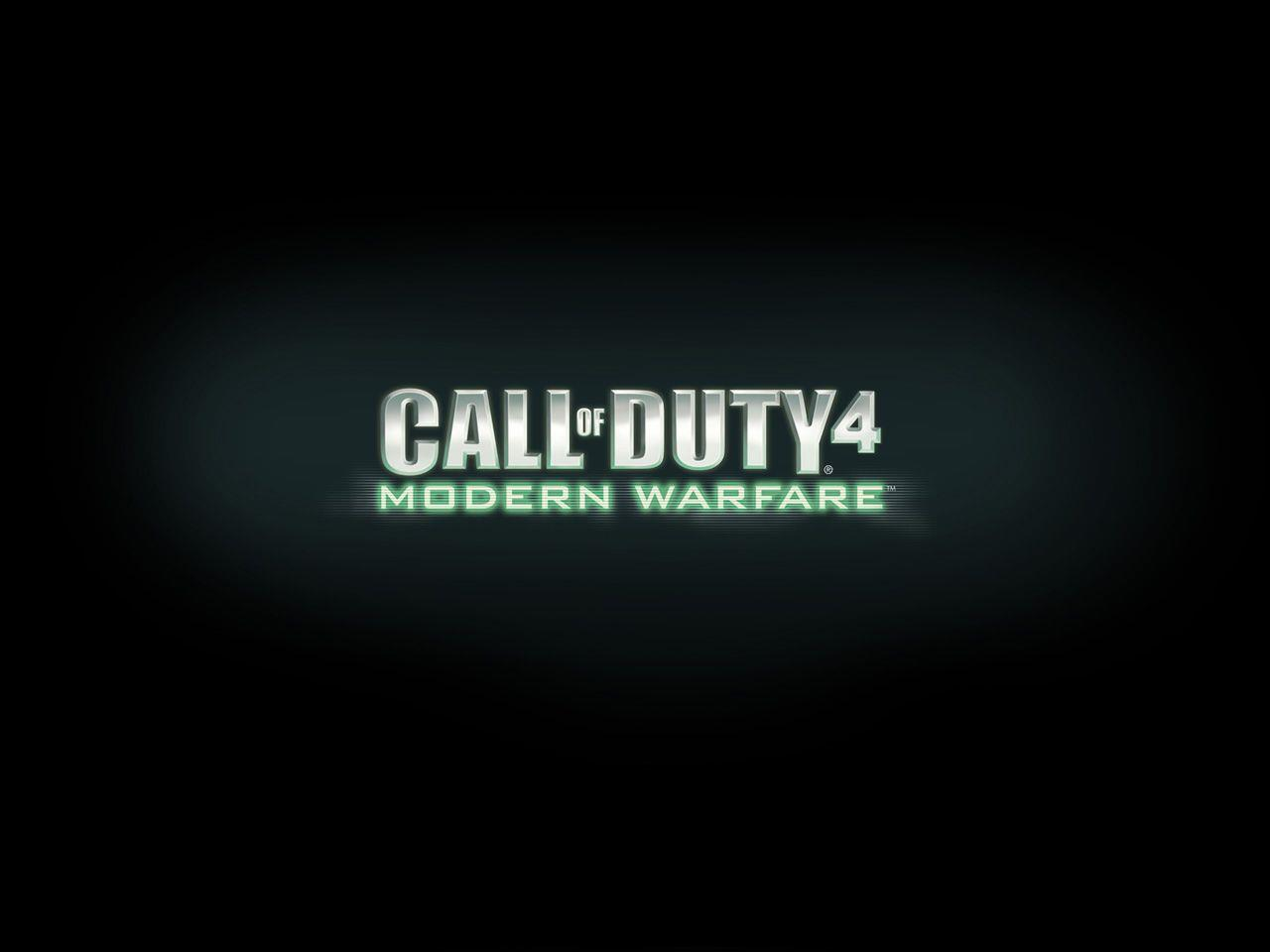 Call of Duty 4 - Modern Warfare Logo