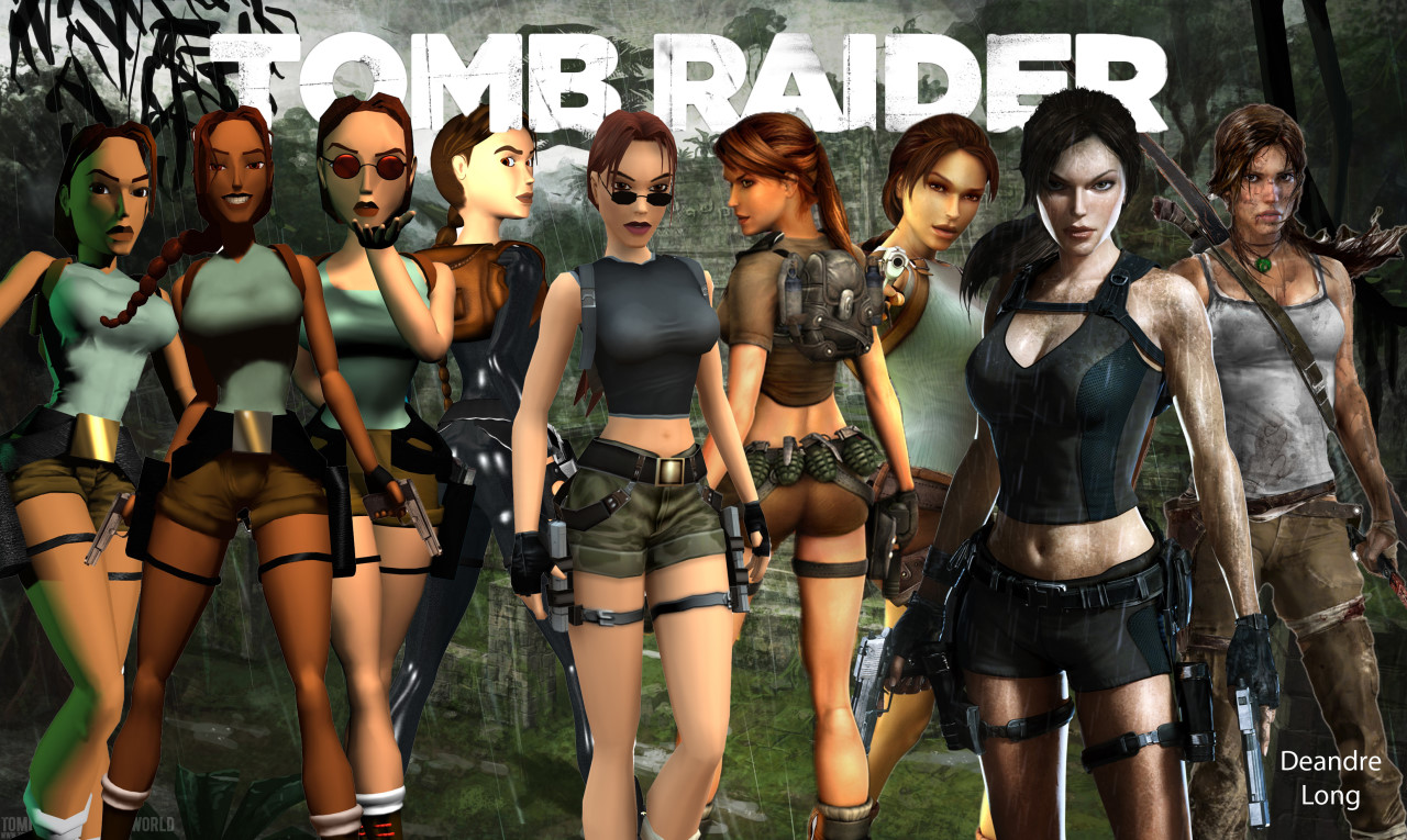 Lara-Croft-Evolution-Collage