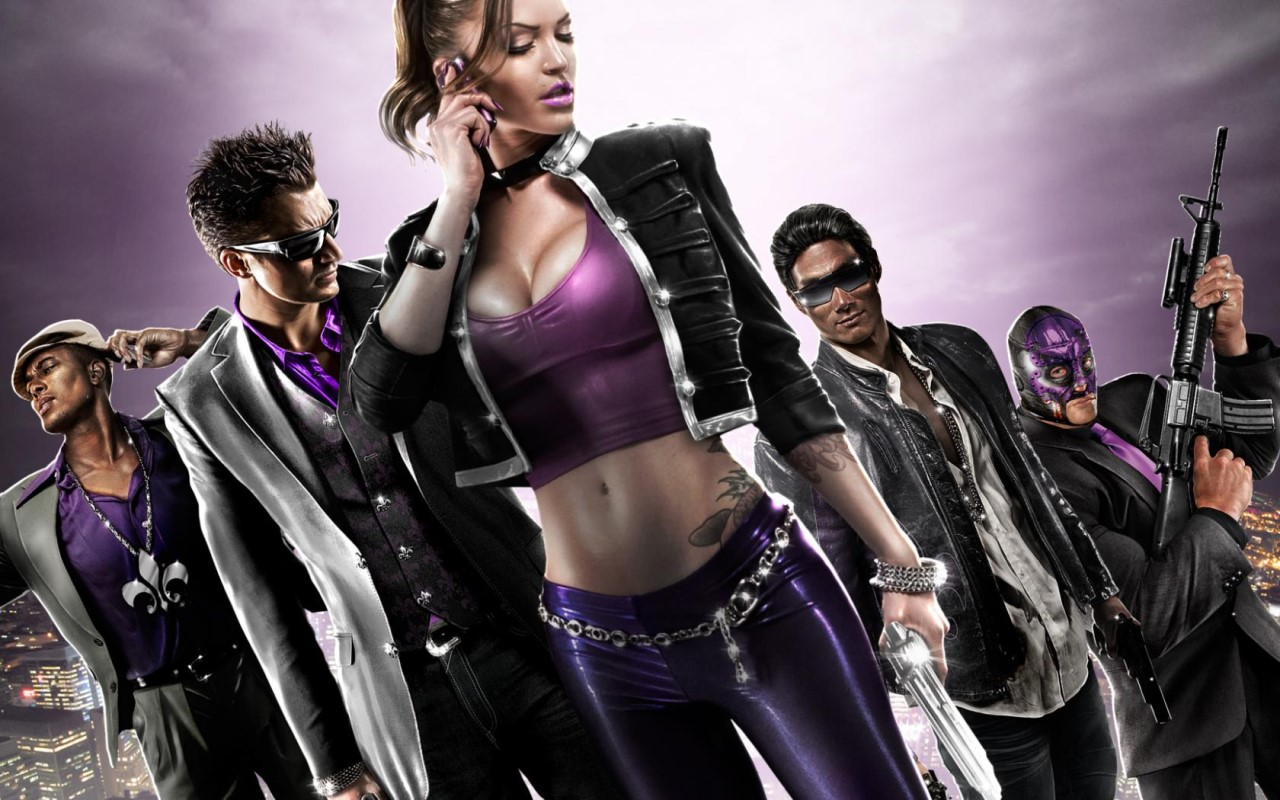 Saints Row The Third - Shaundi+Crew-Wallpaper