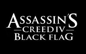 ACIV Black Flag Schriftzug