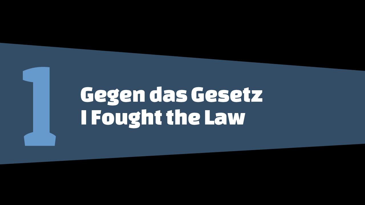 GTA5 #1 - Gegen das Gesetz - Schriftbanner