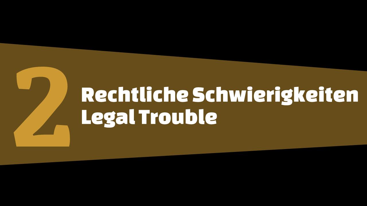 GTA5 #2 - Rechtliche Schwierigkeiten - Schriftbanner