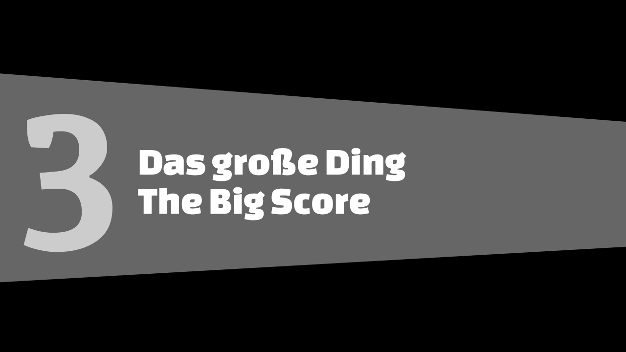 GTA5 #3 - Das grosse Ding - Schriftbanner