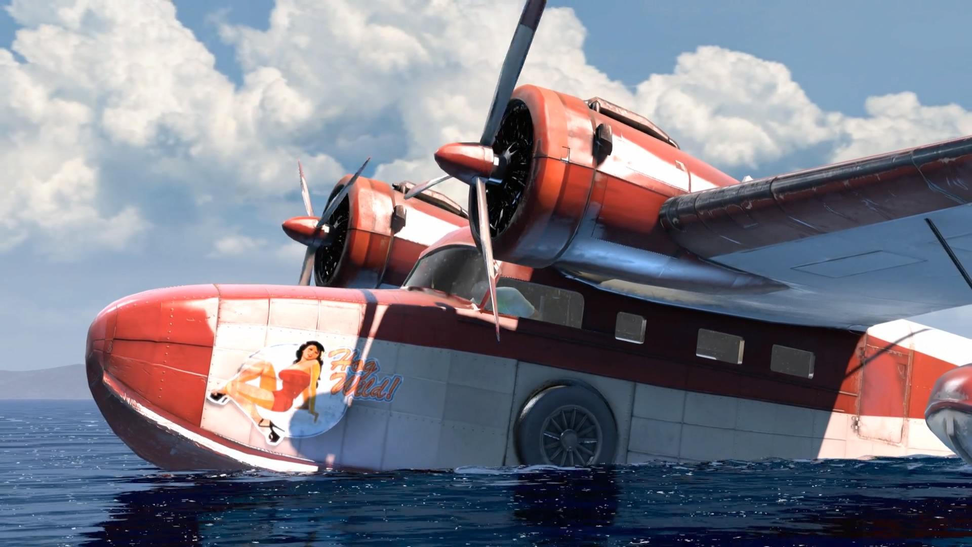 Sully Und Sein Wasserflugzeug Als Letzter Rettungsring