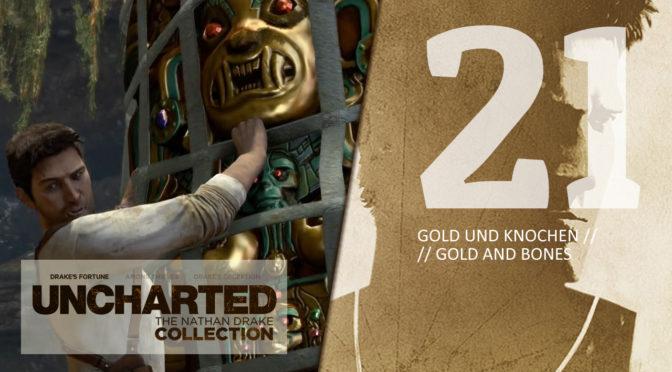 21 UCNDC-U1 Gold und Knochen