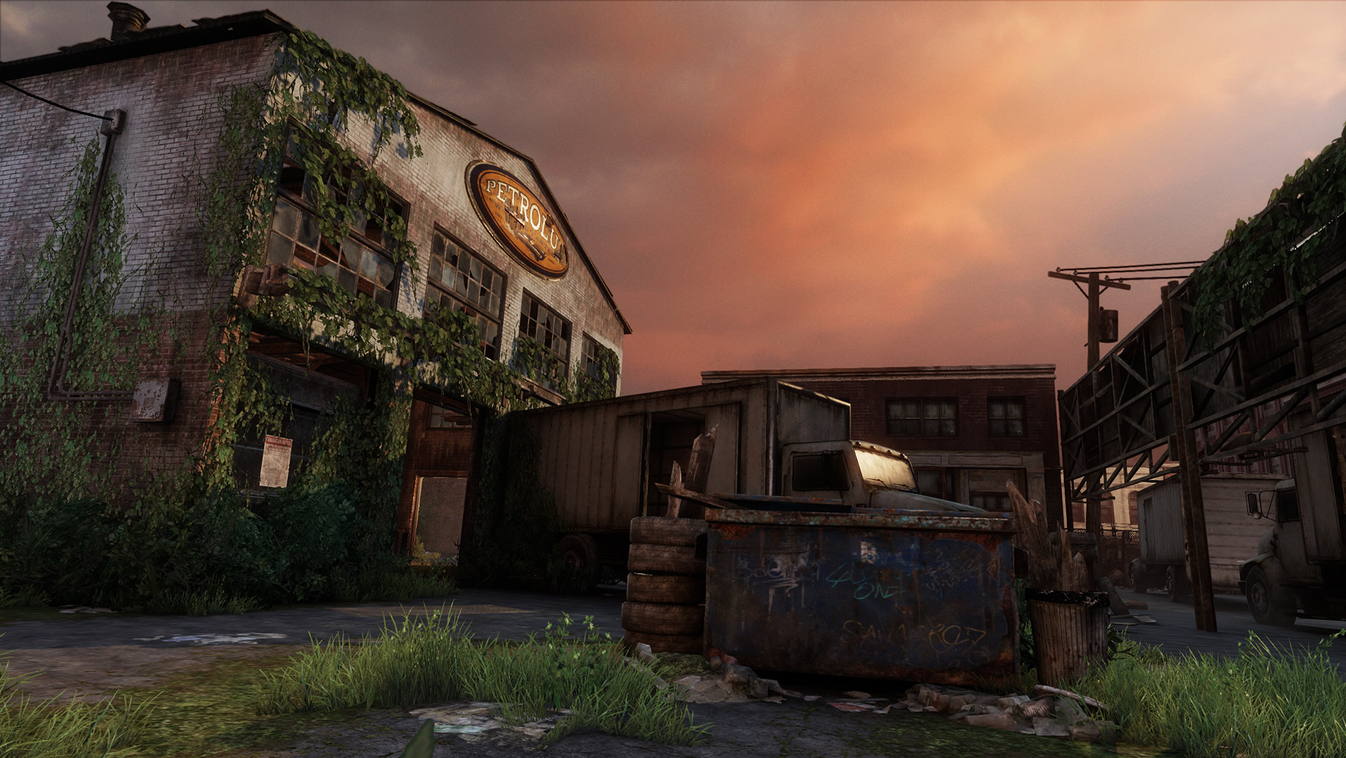 The Last of Us Maps - Bills Stadt