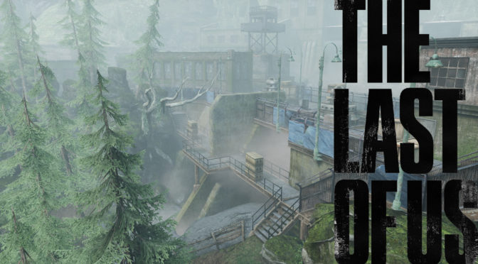The Last of Us Maps mit Logo - Der Damm