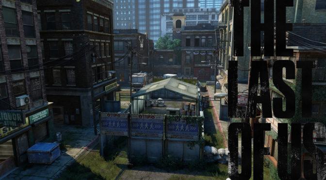 The Last of Us Maps mit Logo - Kontrollpunkt