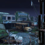 The Last of Us Maps mit Logo - Higschool
