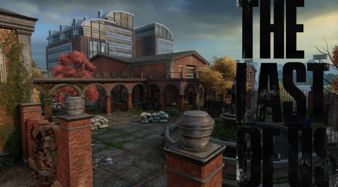 The Last of Us Maps mit Logo - Universität