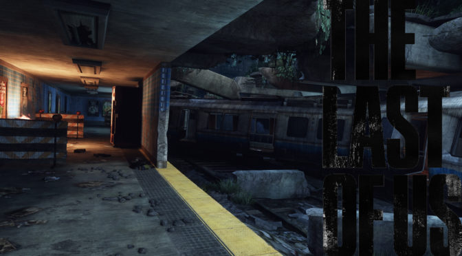 The Last of Us Maps mit Logo - Zentrum