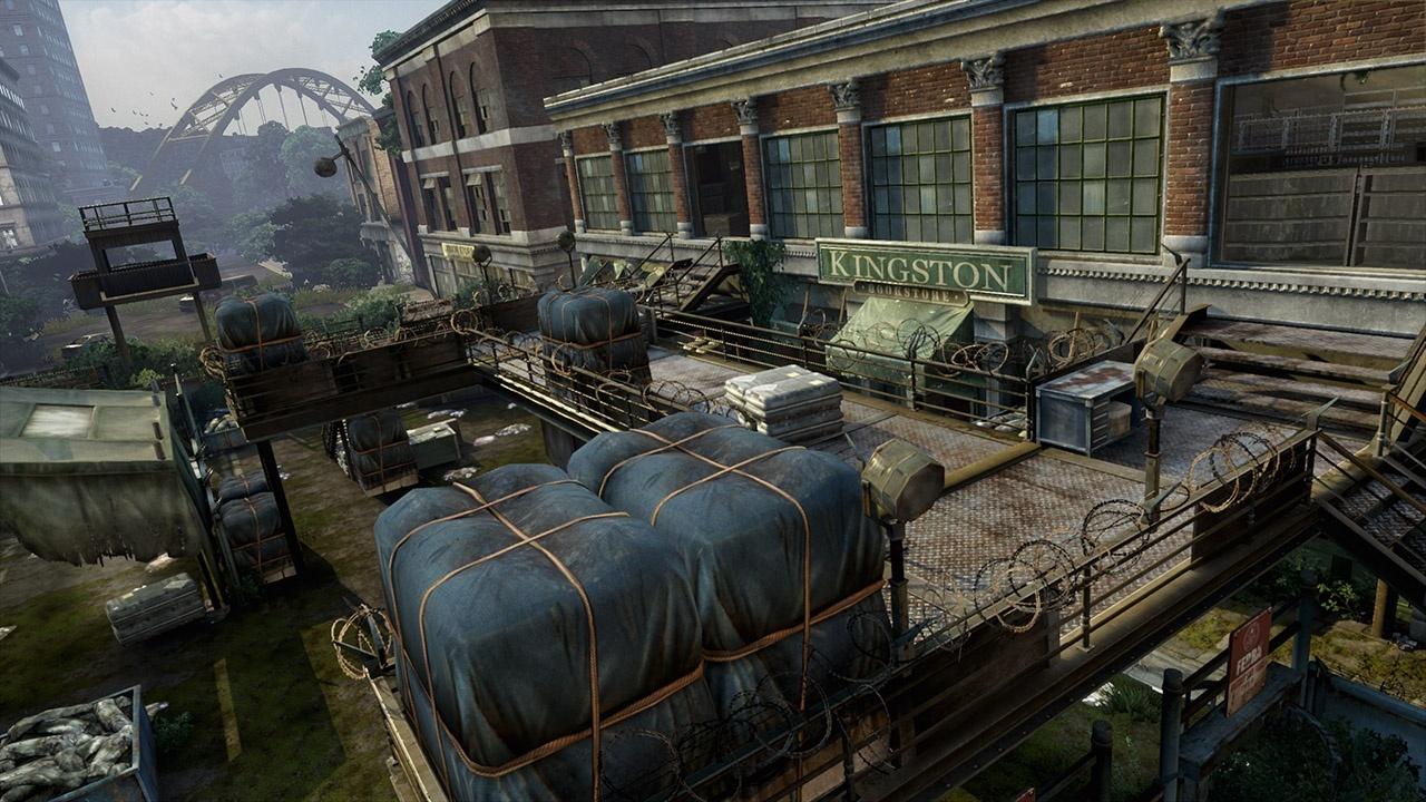 The Last of Us - Verlassene Gebiete Maps - Buchhandlung
