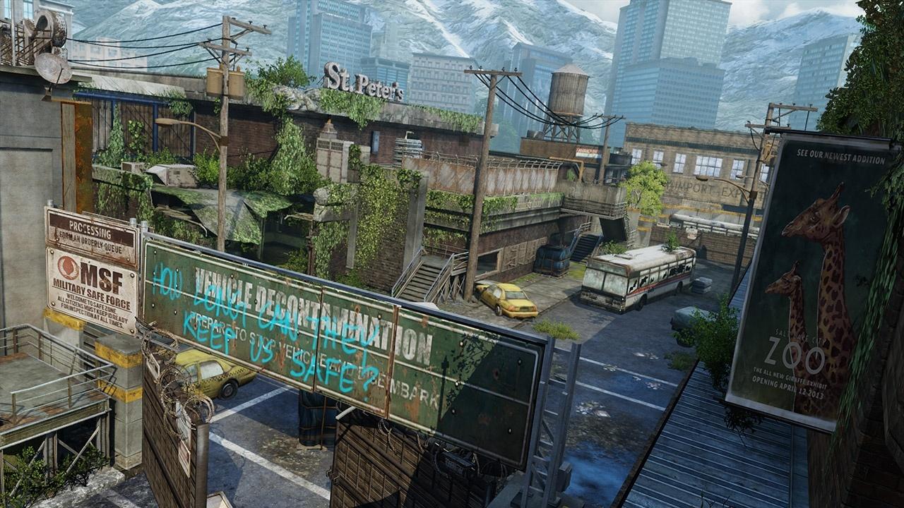 The Last of Us - Verlassene Gebiete Maps - Busdepot