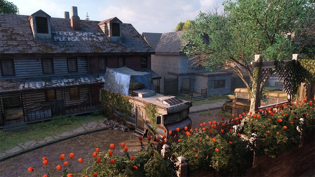 The Last of Us - Verlassene Gebiete Maps - Vorstadt