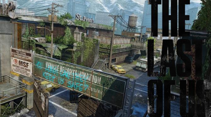 The Last of Us Maps mit Logo - Busdepot