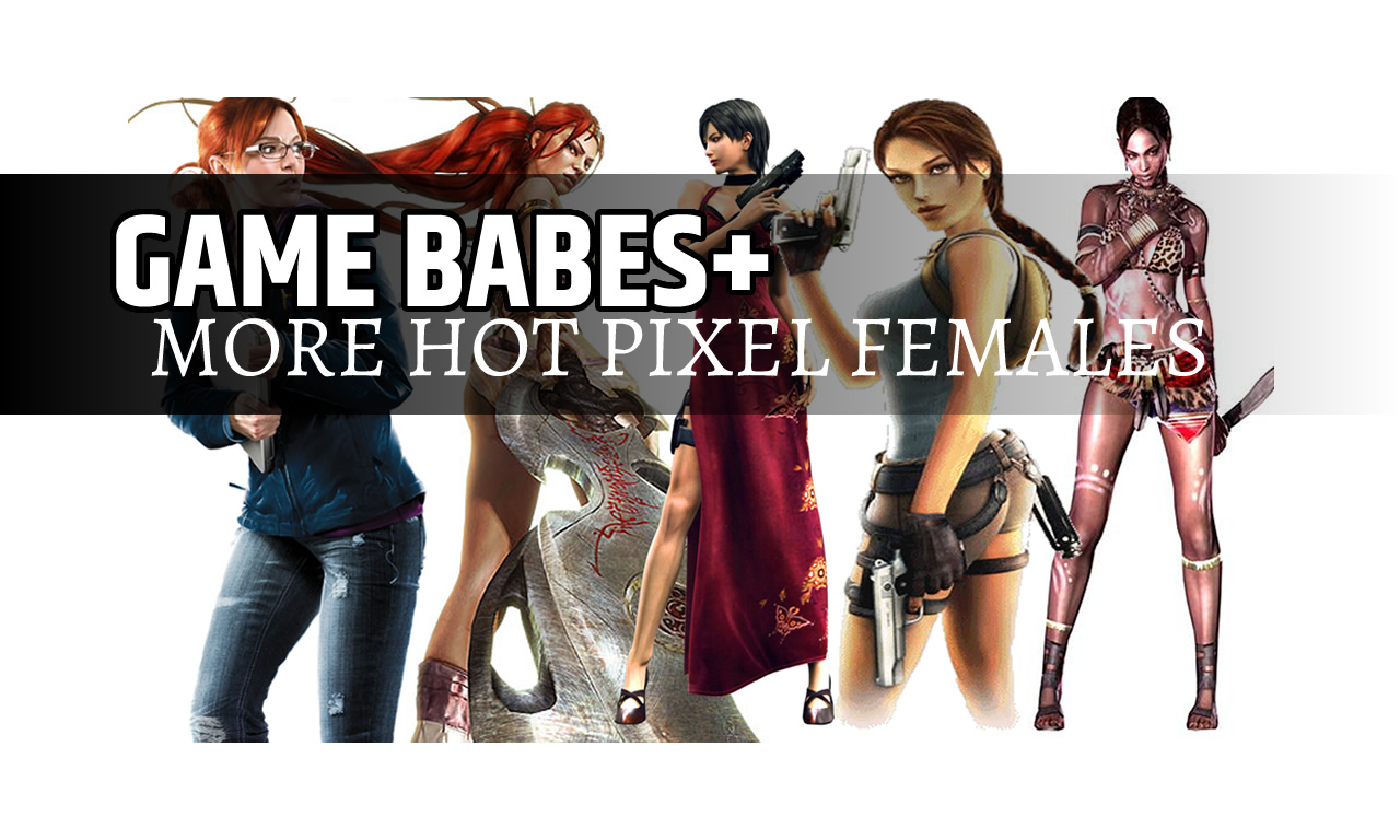 GAME BABES+ more hot pixel females