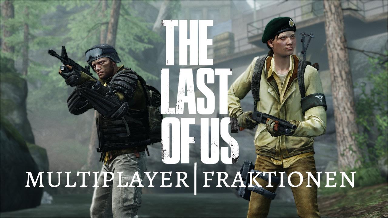 The Last of Us - Multiplayer Fraktionen Banner