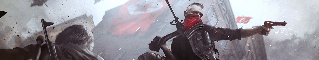 HEADBANNER Homefront: Revolution | Red Masked Rebell Edition