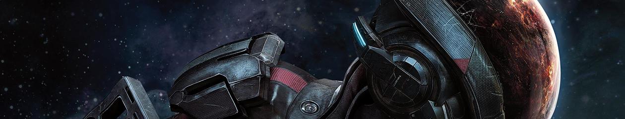 HEADBANNER Mass Effect: Andromeda | Space Helmet Edition