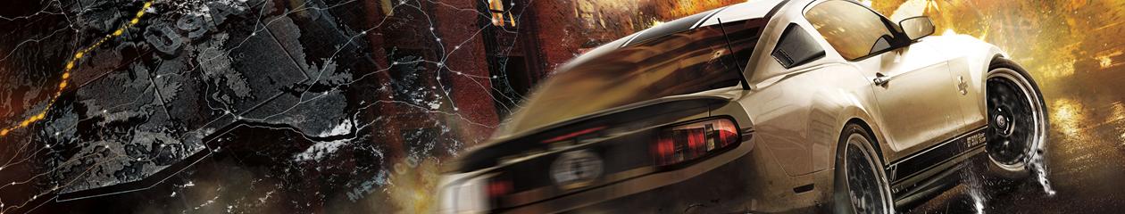 HEADBANNER Need for Speed The Run | Muslce Car Edition