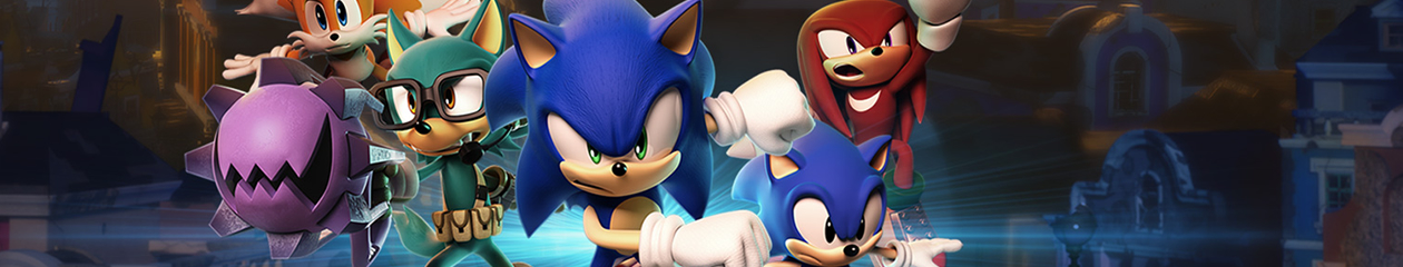 HEADBANNER Sonic Forces | The Team Edition