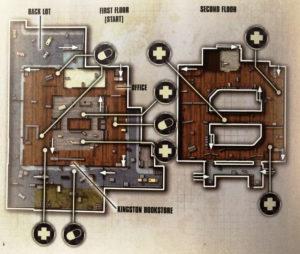 Buchhandlung Map-Skizze