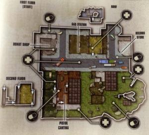 Map-Skizze Heimatstadt