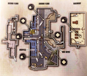 Map-Skizze Busdepot