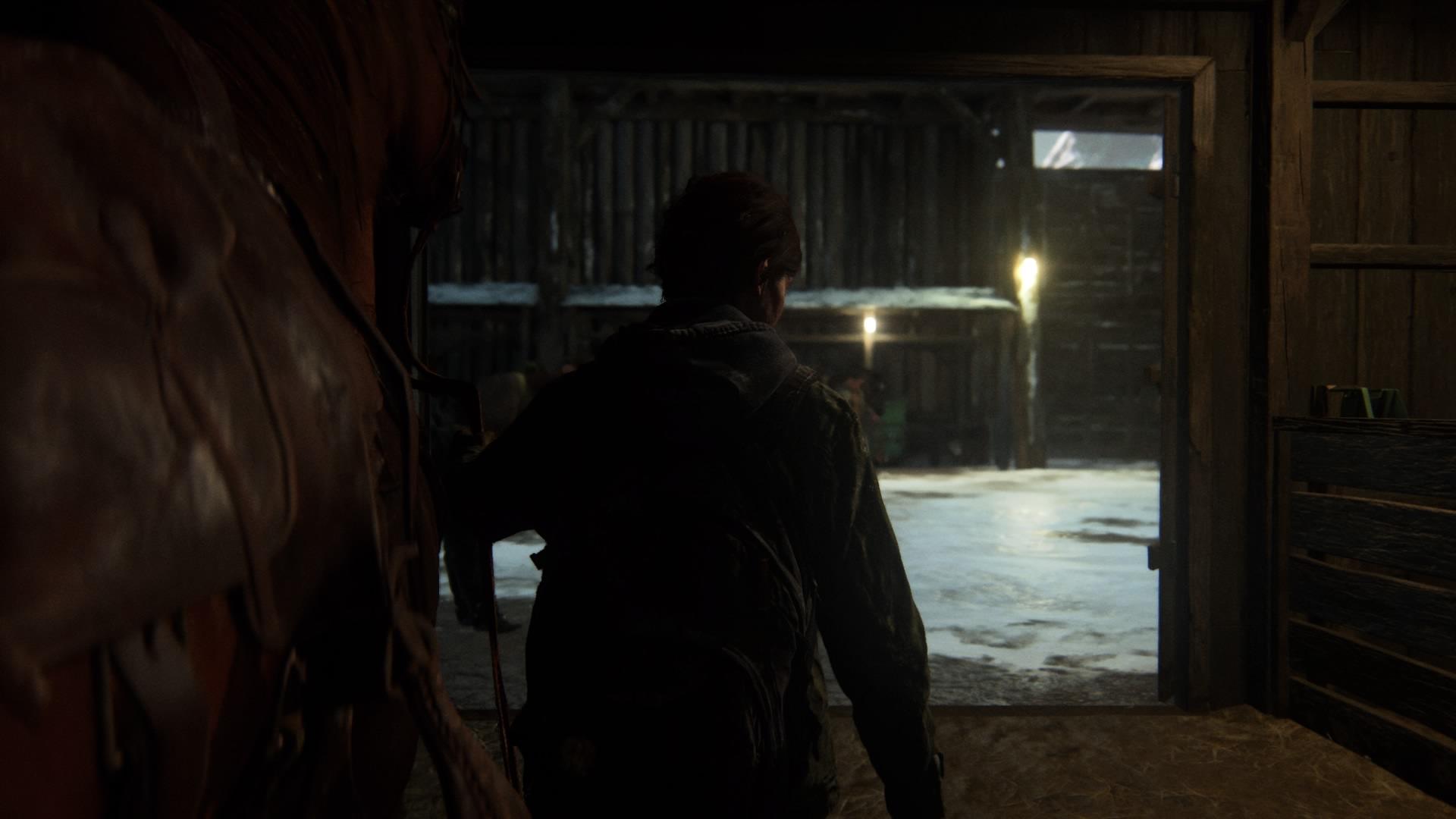 Ellie Führt Ihr Pferd Am Strengen Riemen ...