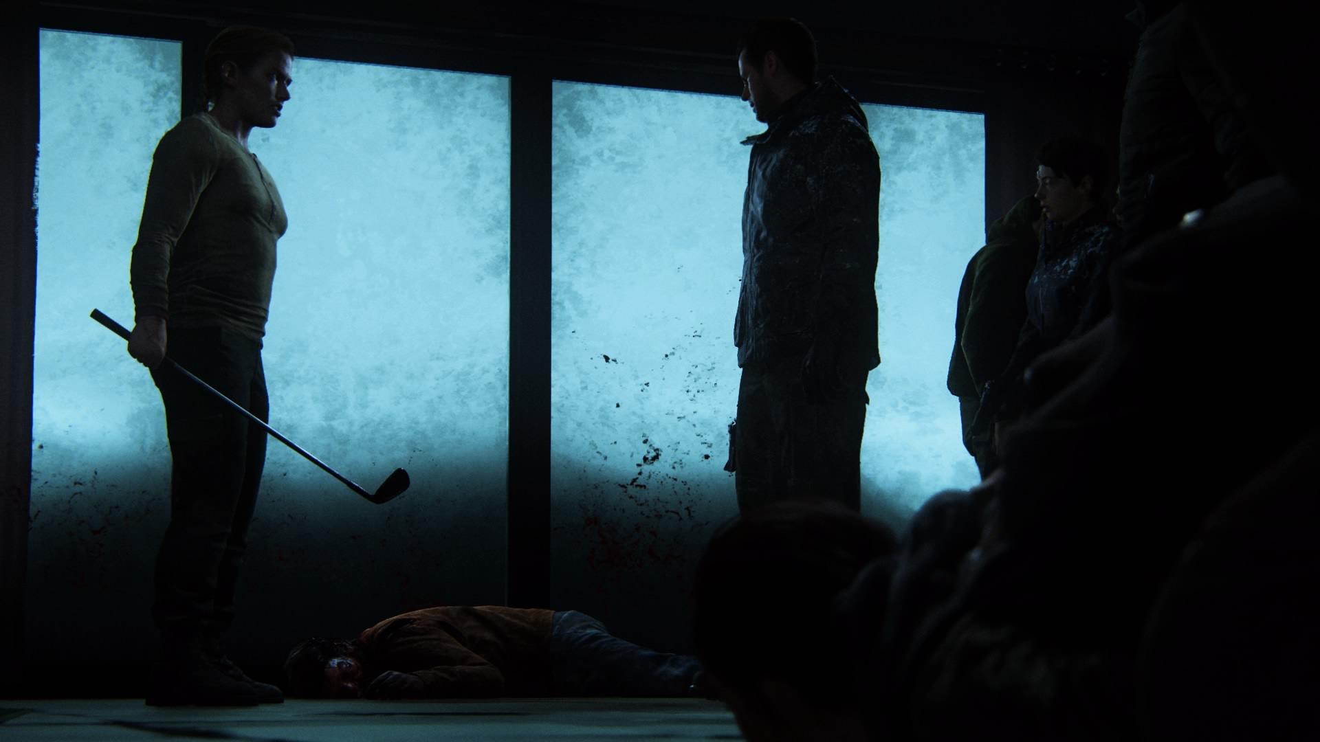 Im Keller Rät Owen Abby Joel Zu Ermorden Und Zu Verschwinden.