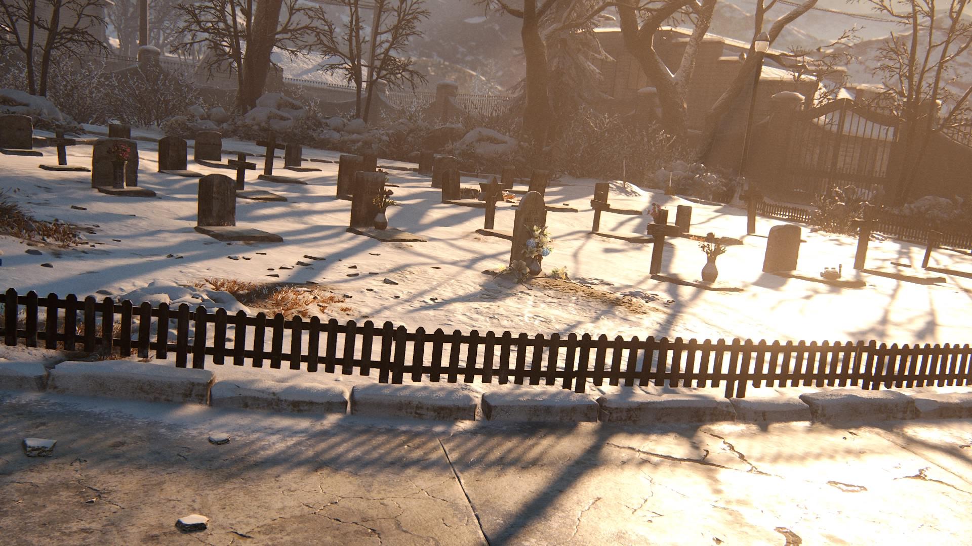 ... Auf Jackson Citys Kleinen Friedhof.