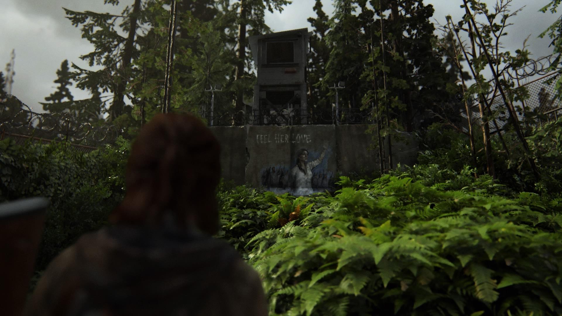 Zum Ersten Mal Trifft Ellie Auf Das Götzenbildnis Einer Sektenanführerin.