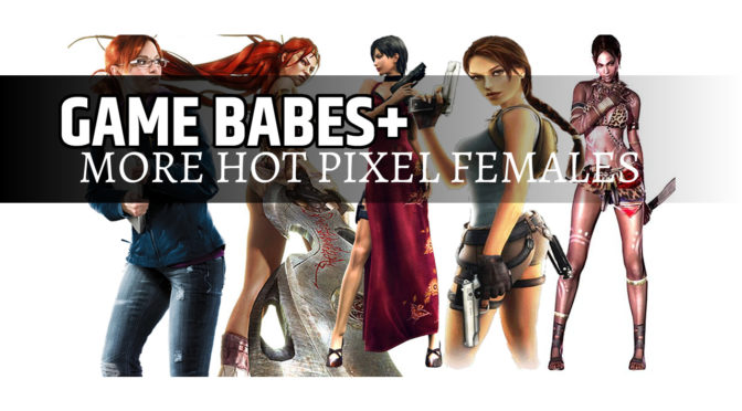 GAME BABES more hot pixel females