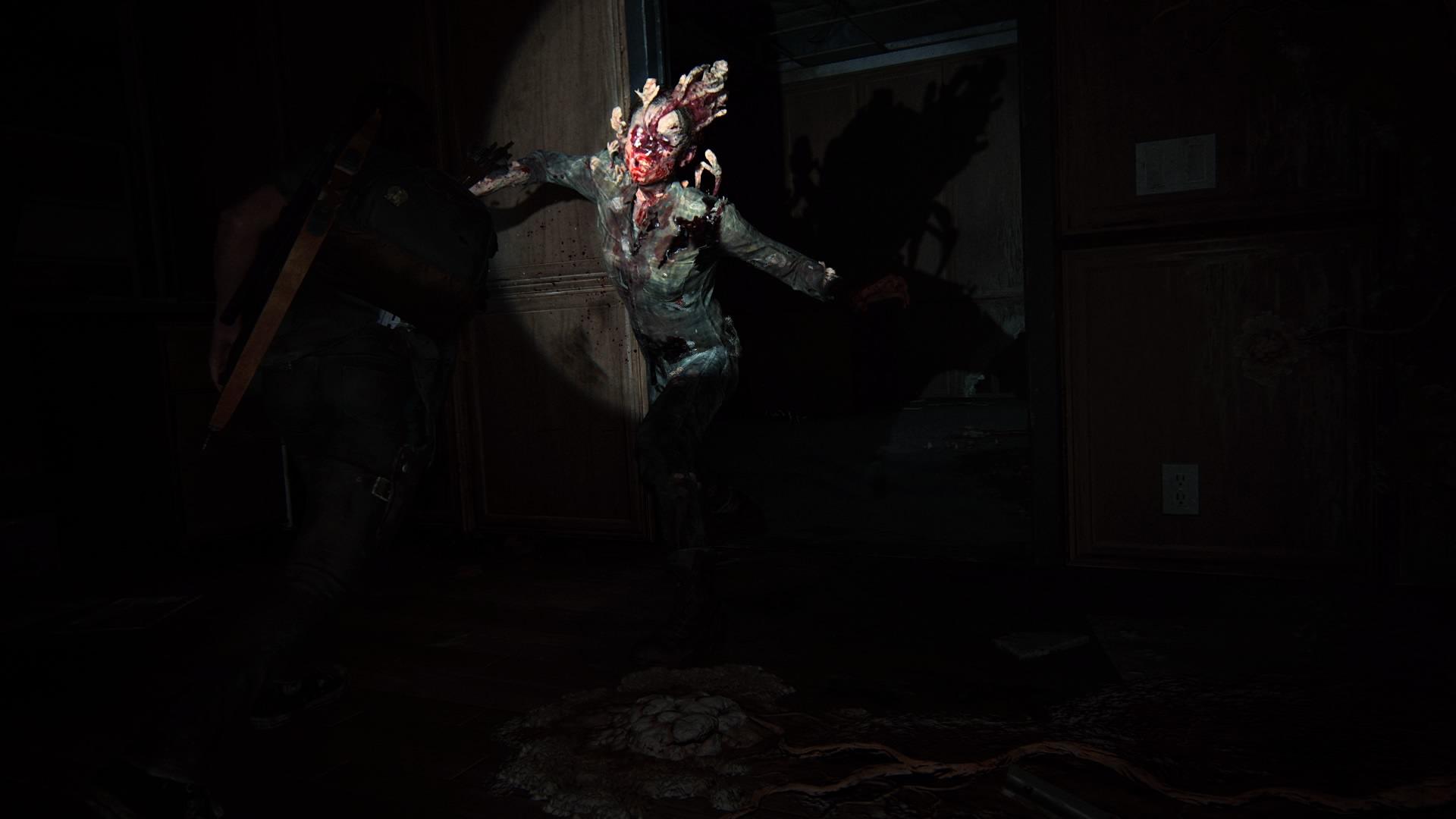 Beim Versteckspiel Mit Scheuen Plötzlich Angreifenden Infizierten.