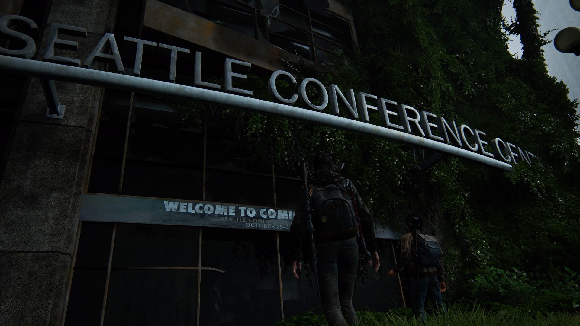 ... Wo Sie Mitunter Das Seattle Conference Center Durchqueren Müssen.